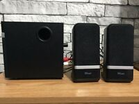 Trust Raina 2.1 Speakers With Subwoofer (USB/PC)