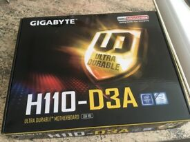 Gigabyte H110-D3A Motherboard