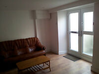 LARGE GARDEN FLAT AVAILABLE FOR IMMEDIATE LET, FURNISHED, CENTRAL, MOST BILLS INCLUDED