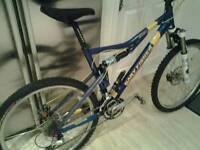 Gary Fisher Sugar1 full suspension mountain bike