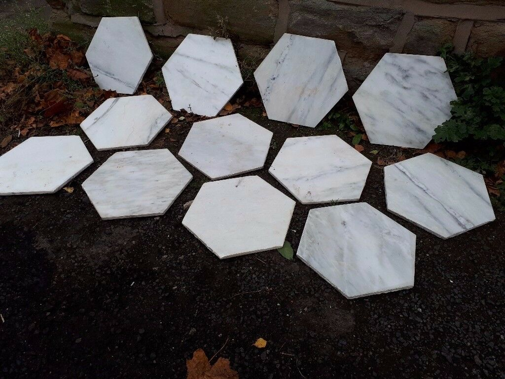 Misty fjord hexagonal polished marble floor tiles topps tiles misty fjord hexagonal polished marble floor tiles topps tiles hexagon white grey veined dailygadgetfo Images