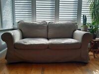 IKEA EKTORP 2-seat sofa (light beige)