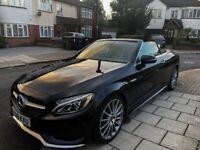REDUCED PRICE! FOR SALE ! Mercedes-Benz, C 200 AMG-Line, Cabriolet