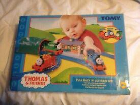 Thomas & Friends Pull Back & Go