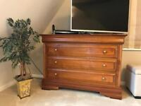 Chest of drawers solid cherry wood