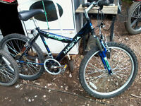 """MAGNA MTN EAGLE Mountain bike ( Bicycle ) , 24"""" wheels , 18 gears , front suspension"""