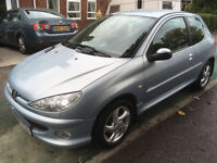 ** TURBO DIESEL** 06 REG PEUGEOT 206 HDI 2.0 SPORT 3 DOOR 50+ MPG