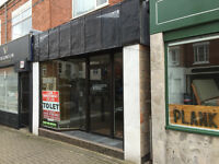Superior Ground Floor Shop To Let in Fashionable Allandale Road, Stoneygate, Leicester