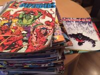 241 Assorted DC/Marvel Comics from 1970s-2016