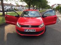 Volkswagen Polo 1.2 S Hatchback 3dr, Cheap insurance,1 year MOT