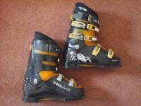 HEAD Ski Boots Mens Black/Orange UK Shoe Size 10 (Approx)
