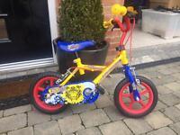 "Kids ""Tiger"" bike. Suitable 3-5 year old."