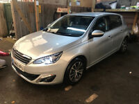 2015 Peugeot 308 Allure 1.6 BlueHDi Silver Manual 5 Door Cheap Quick Sale