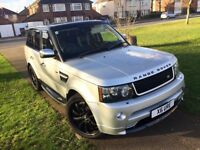 RANGE ROVER SPORTS FACELIFT Land Rover 4x4 SUV 2.7 Diesel Automatic Low mileage Cheap Quick sale