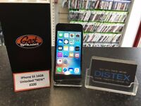 iPhone 5S 16GB Unlocked Black *Carphone Warehouse Replacement BRAND NEW*