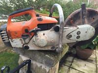 Ts400 stihl saw with new pot and piston