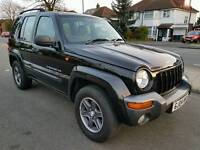 Automatic Diesel Jeep Cherokee Extreme Sport - Black 2004 Jeep Cherokee Extreme Sport 4X4 5dr