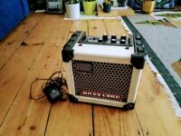 Roland Micro Cube Amp with adaptor