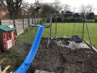 TP Climbing frame, slide and swings