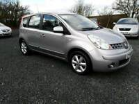 Nissan Note 2008, 1.4, PSH+LOW MILEAGE+2 KEYS