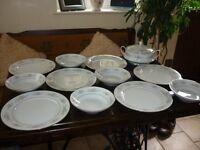 noritake 3080 melissa pattern china dinner service