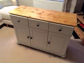 Painted Pine Farmhouse Style Sideboard Unit