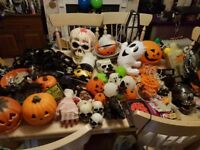 LOTS AND LOTS of Halloween stuff