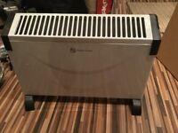 Plug in convector heater (no plug)