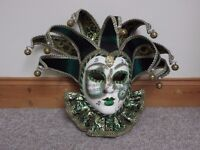 Large Venetian decorative mask - made in Italy