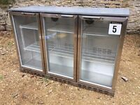 BLIZZARD 3 door bottle fridge