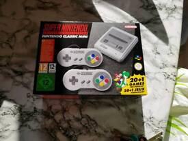 Super Nintendo Classic mini console