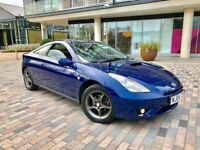 TOYOTA CELICA VVTI 1.8 GT COUPE JUST BEEN SERVICED
