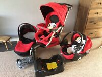 Complete Chicco Activ3 Travel System / pram / pushchair