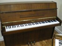 Chappell Upright Piano 3-Pedals Free Delivery