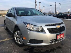 2014 Chevrolet Cruze 2LS $59/WK, $0 Down, OAC, Includes HST & Li