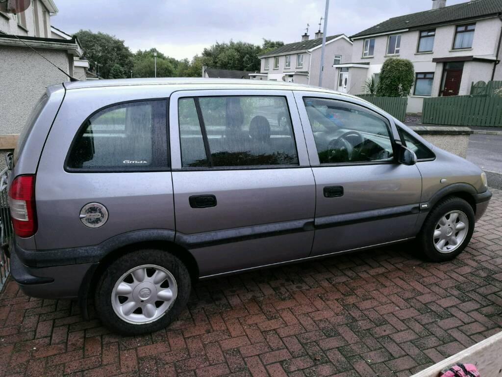 Vauxhall zafira life 2.0 dti