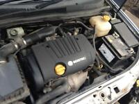 2005 Vauxhall Astra 1.8 16v Sri engine can be heard running