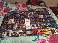Samsung bluray player and loads of films