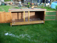 single story rabbit/guinea pig hutch