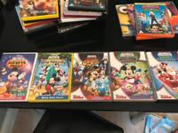 Mickey Mouse clubhouse dvds