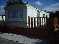 Static Holiday Caravan For Sale On Popular Lake District Park