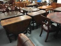 ** DROP LEAF TABLES / OTHER TABLES / PLUS OTHER FURNITURE **