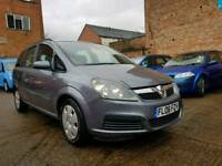 2006 Vauxhall Zafira 1.6 - 7 Seater - Low Mileage - 3 Months Warranty