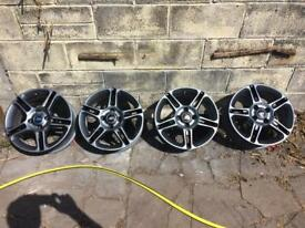 Ford Fiesta Zetec S alloy wheels