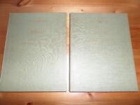 J S Bach Pianoforte Vol 1 & 2 and Beethoven Pianoforte Sonatas, Vol 1 Hardbacks for sale  Clapham, London