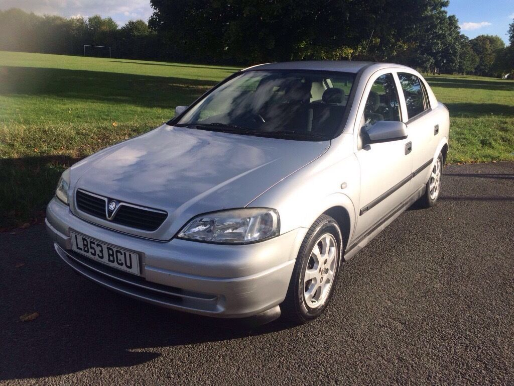 ASTRA SXi 1.6 2003 Auto with MOT & Full Service History (10 service stamps in the service book).