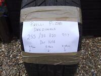 PIRELLI 255 35 R20 DIREZIONALE part worn tyre , tread depth 5.8mm