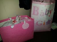 !! New born girls clothes with tags !! Cost over £100 easy + loads of extras. Absolute bargain !!