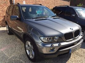 BMW X5 3.0 SPORT 4X4, AUTOMATIC, LOW MILEAGE, FSH, FULL LEATHER, FROM THE RETFORD CAR COMPANY