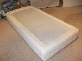 PurFlo Breathable Cot Bed Mattress 120 x 60 cm